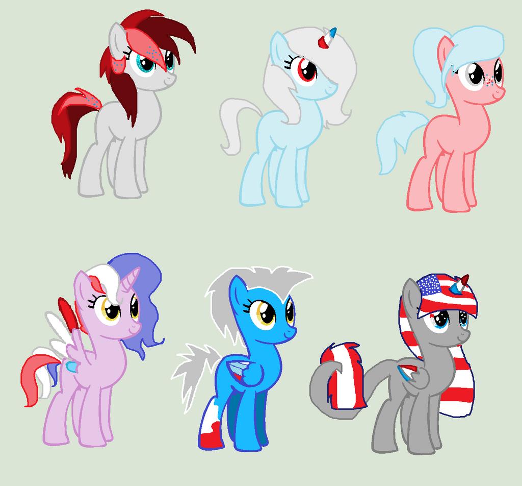 The Patriotic Pony