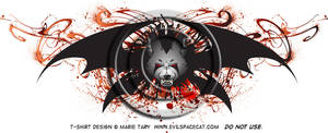 Winged Werewolf T-shirt design by shadowsmyst