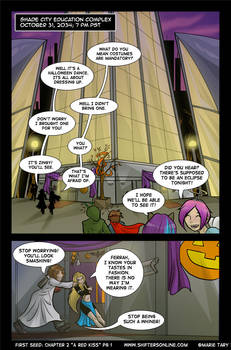 Chapter 2 - A Red Kiss - Pg 1