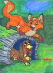 2.the Fox and the Hound