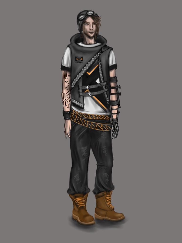 Cyberpunk Fashion Male