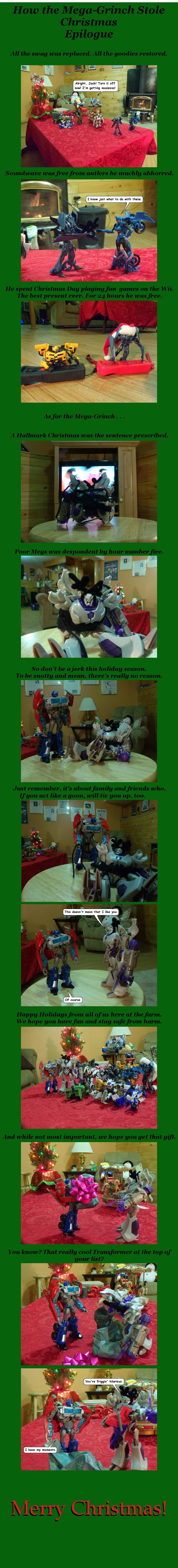 How the Grinch Stole Christmas- Epilogue by naturegirl52180
