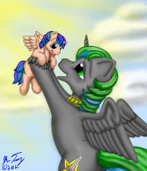 Proud New Father by BlueHawk82