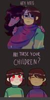 HEY ITS YOU KIDS? by MeruRei