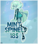 Mint Spinel(closed) by MeruRei