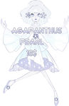Agapanthus pearl(closed)