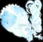 Aqua pearl(closed)