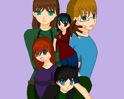 My OC Family~ by AshenCrystal
