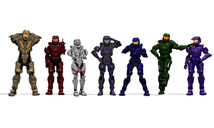 My RvB Characters