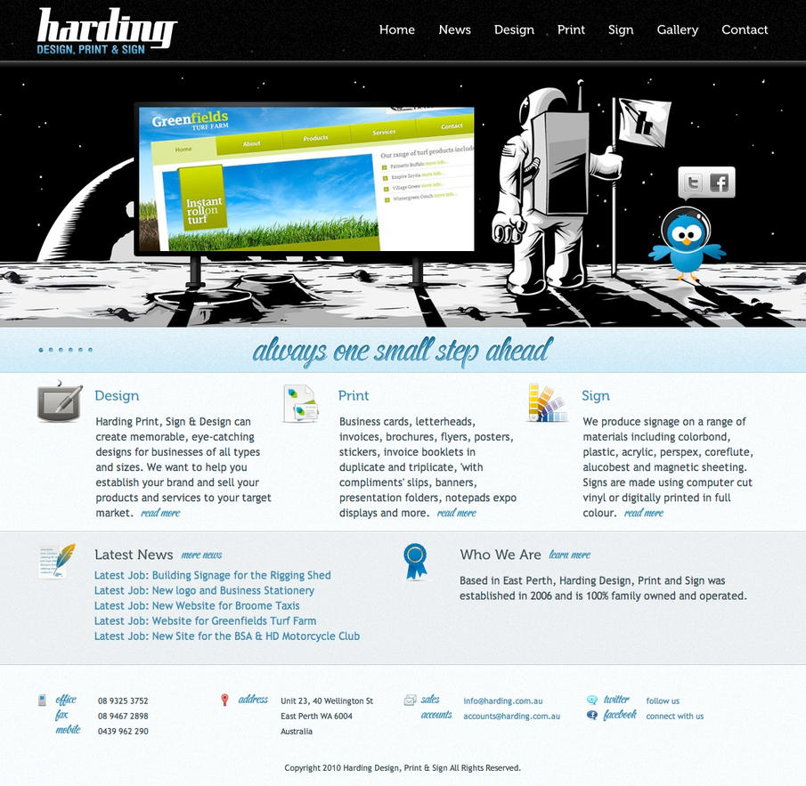 Harding Design, Print and Sign by indiqo
