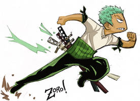 Roronoa-Sanji's my Bitch-Zoro by pirateneko