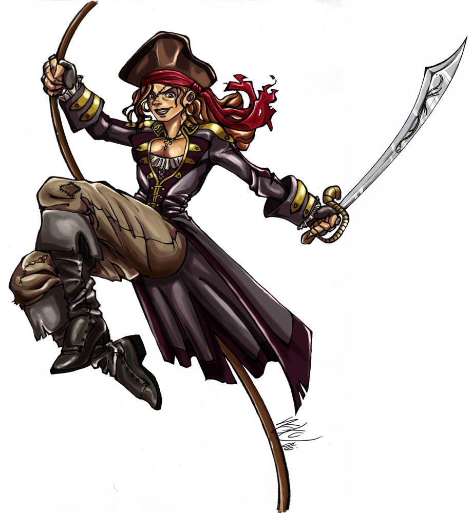 Pirate girl by pirateneko on DeviantArt - photo#40