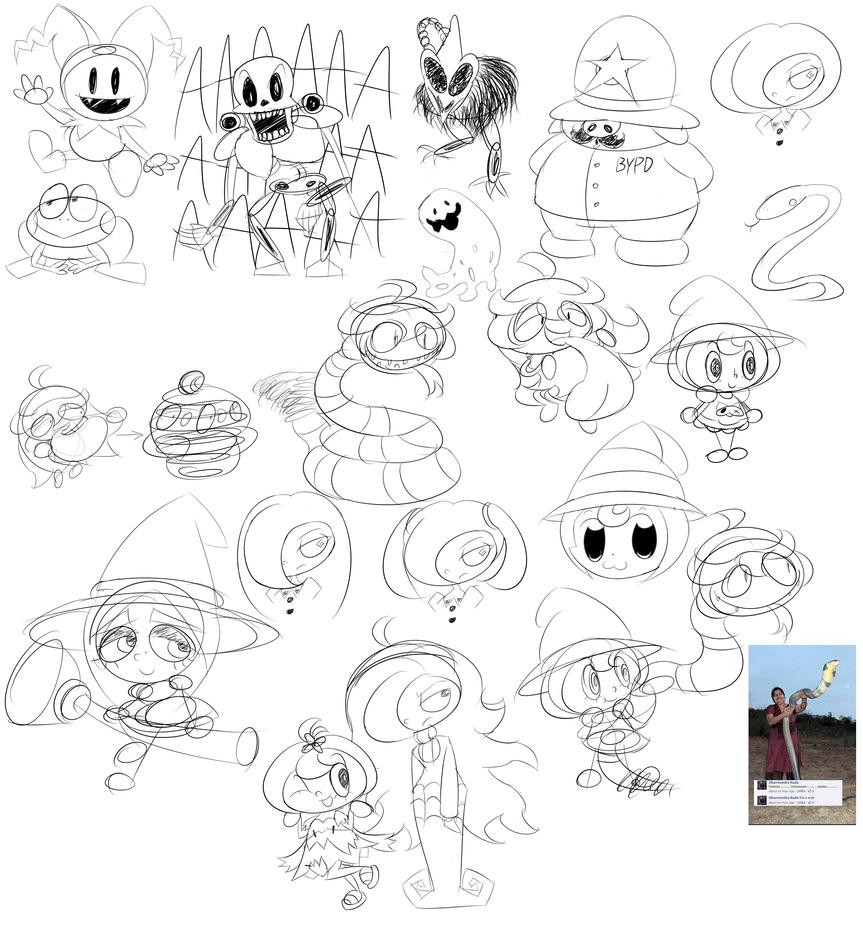 Doodle Dump 2 by MilkZeppelin