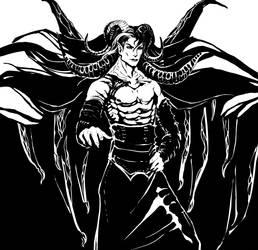 Black daemon by dormantbeast