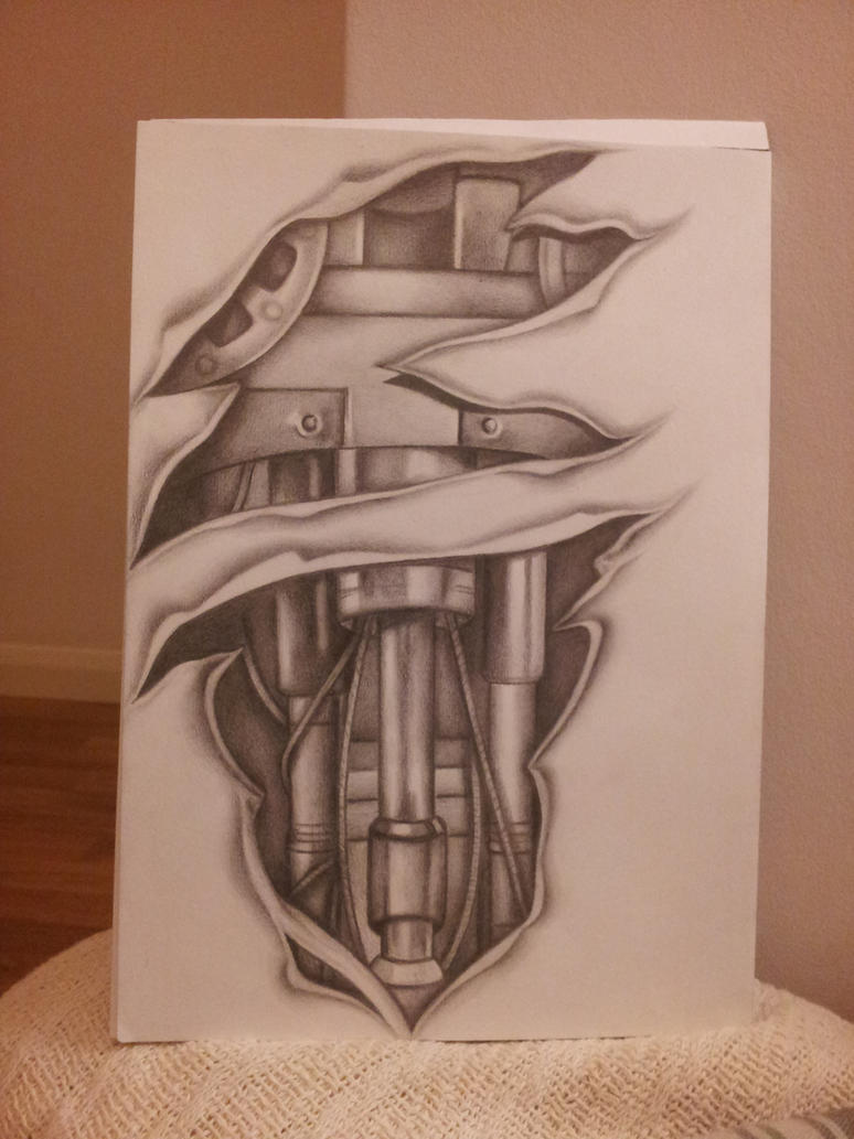 biomechanical tattoo sleeve design by shell31 on deviantart. Black Bedroom Furniture Sets. Home Design Ideas