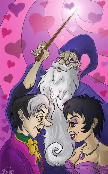 By Merlin S Beard I Love You By Pentaca13 On Deviantart