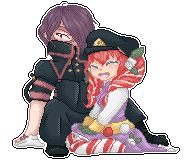 [Comm] Sucre-chan and Monsieur Meat by DekuScrub-Chan
