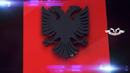 Flamuri Shqiptar 3D