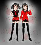 Aiko and Airi - StalkerXStalker fan art