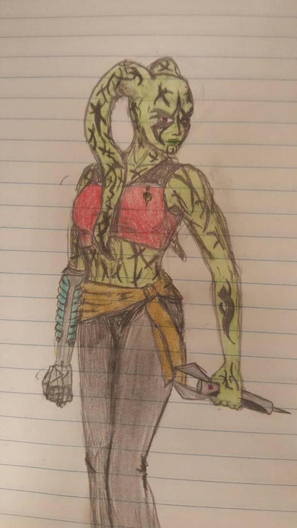 Dark Ardana doodle. by Gageous