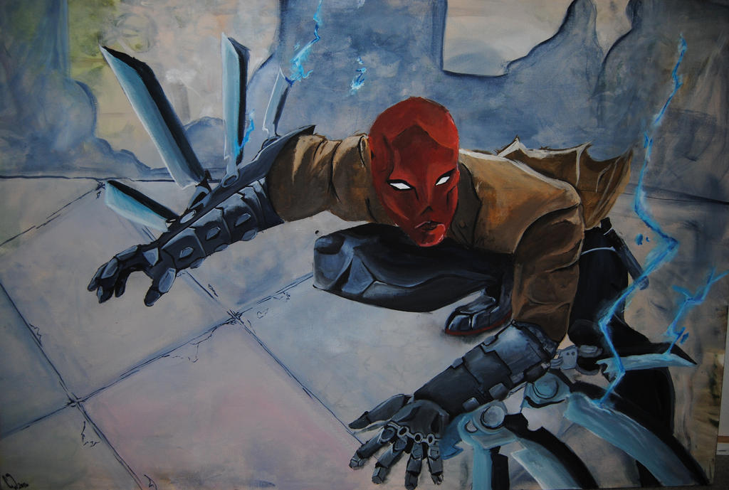 Red Hood by TheBlueGuardian