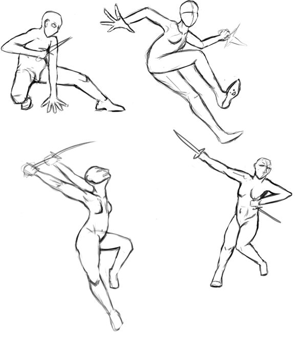 Playing with Poses by TheBlueGuardian