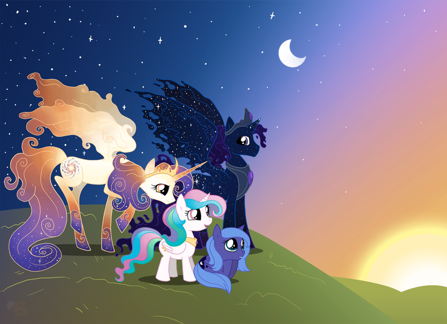Little Princesses by SpyrotheFox
