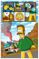 'Breaking Bad' Simpsons Parody by paulwilliamsart