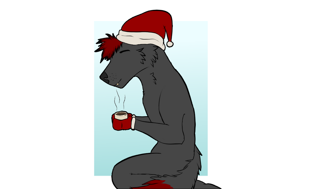 nothing like cup of coco on a cold day by JackieblazeWolf