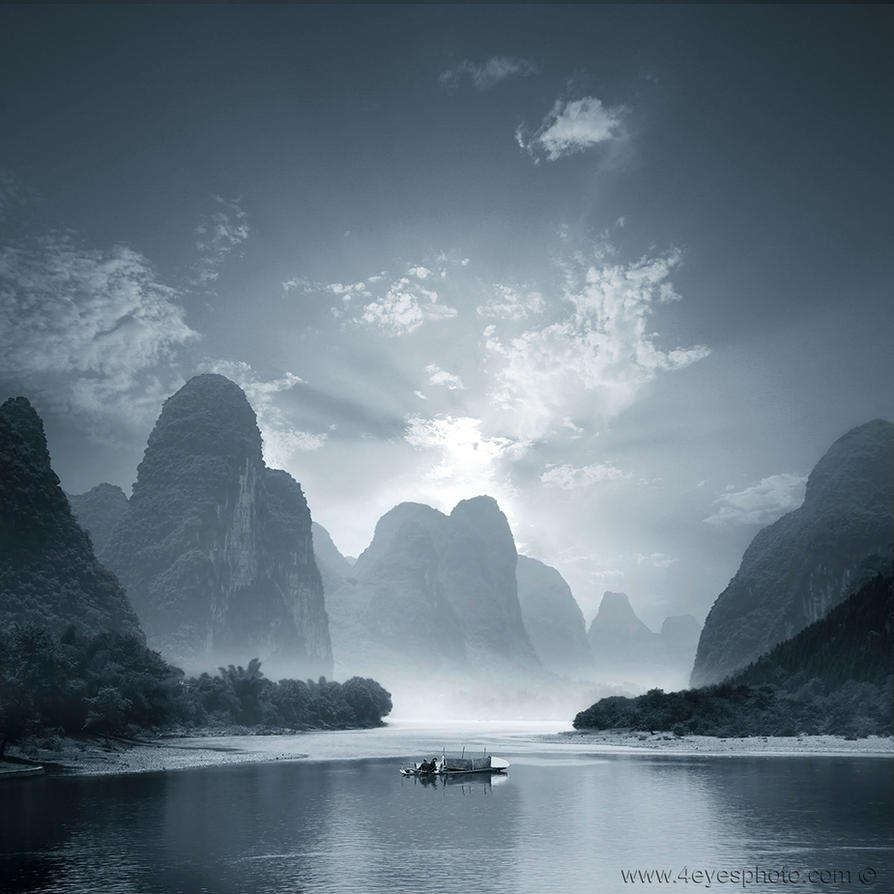 li river by foureyes
