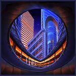 Spaceship Houston by foureyes