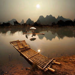 yulong river by foureyes
