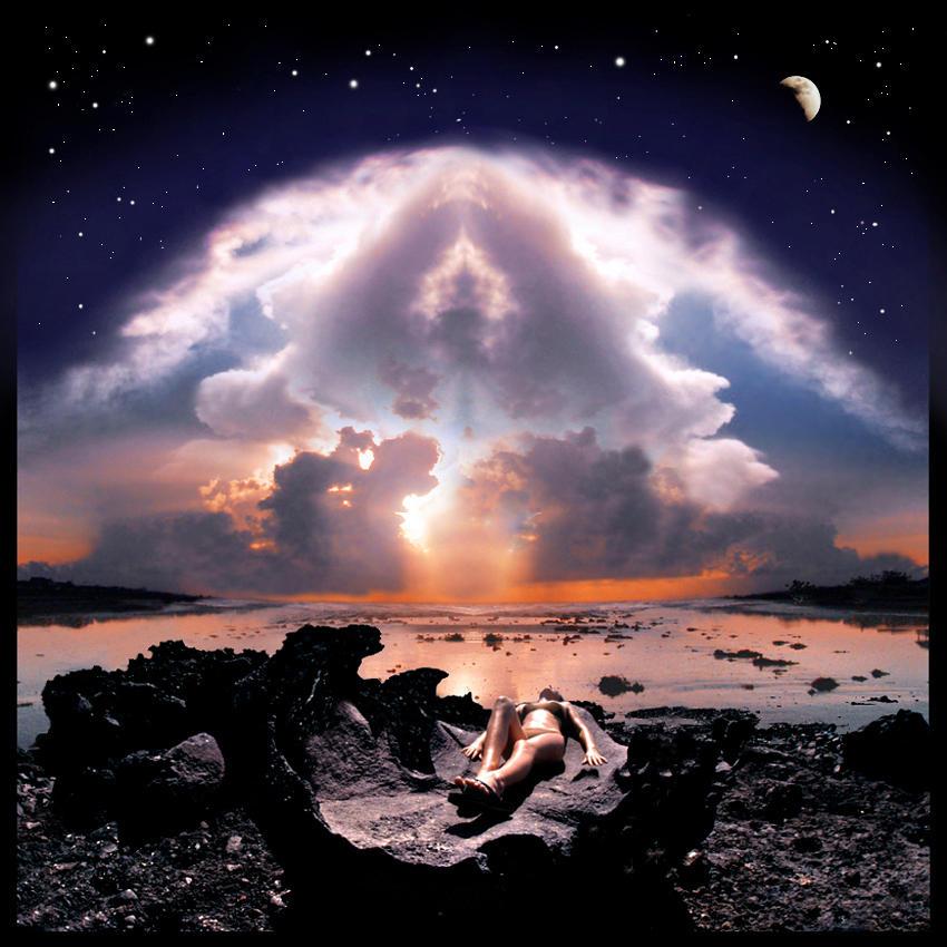 Atomic sky by foureyes