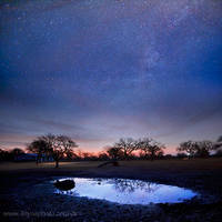 Texas Night Sky