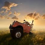 Redneck Truck by foureyes