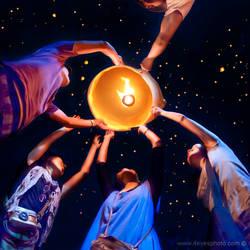Wish Lantern - Loy Kratong Thailand