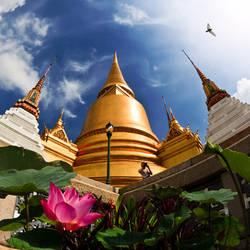 Wat Phra Kaew by foureyes