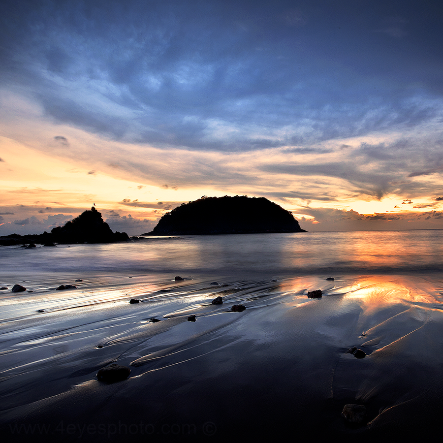 Phromthep Cape Beach - Thailand by foureyes