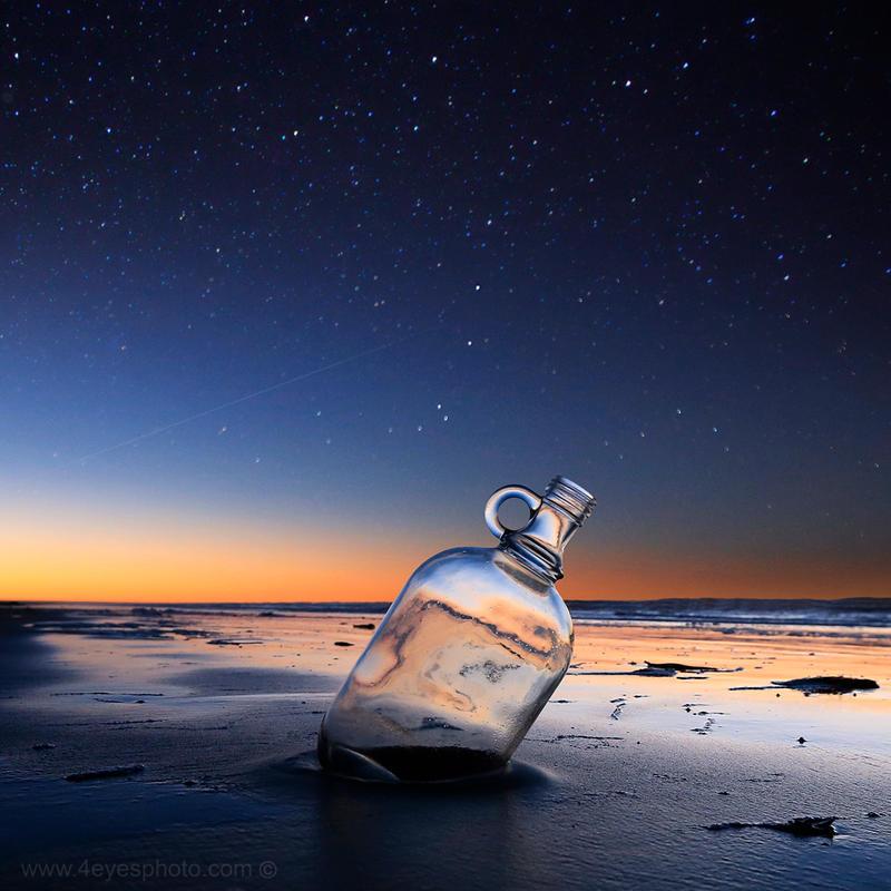 a bottle of dreams by foureyes