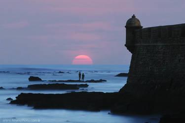 Cadiz Castle by foureyes