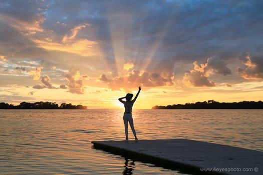 Hello Sunrise...my old friend