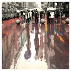 ...if I were the rain