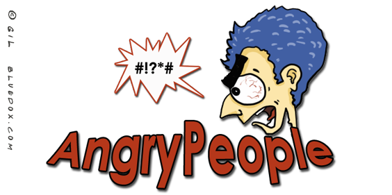 Angry People Logo by m26gil