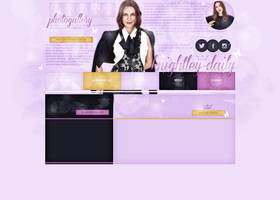 Layout ft. Keira Knightley by Andie-Mikaelson