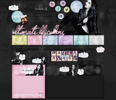 ordered layout ft. lily collins by Andie-Mikaelson