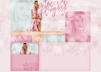 layout ft. margot robbie by Andie-Mikaelson