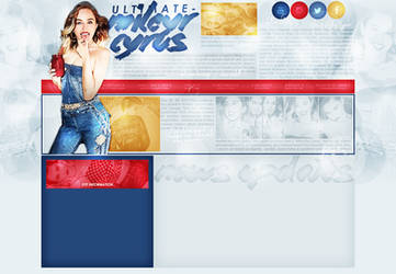 layout ft. miley cyrus by Andie-Mikaelson