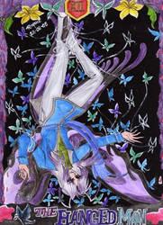 Tarot- The Hanged Man - Koi by raquelanubis