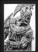 Achilles the warrior by Voodoochild10588