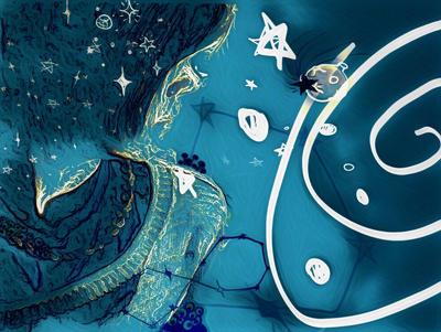 Drake Space by Mermatriarch